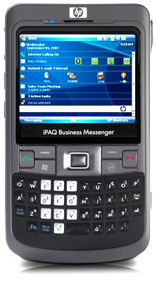 HP iPAQ 900 - коммуникатор с Windows Mobile 6.1