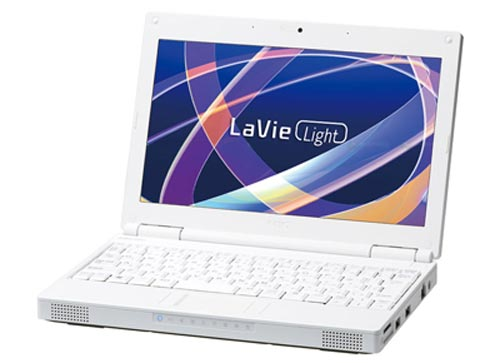 LaVie Light BL100 и LaVie Light BL300 - нетбуки от NEC