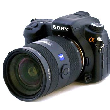 Sony DSLR A800 -  15,2-мегапикселей и Wi-Fi