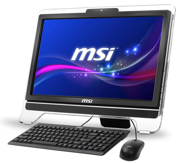 MSI WindTop AE2051: десктоп-моноблок на платформе AMD Brazos 2.0.