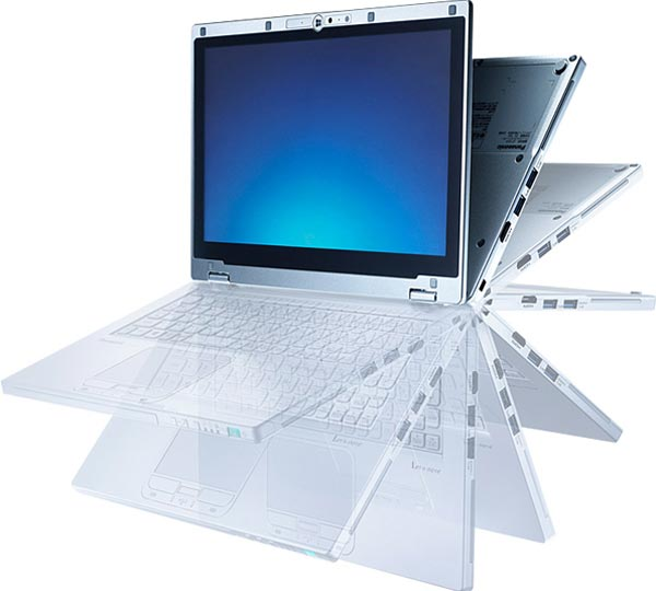 Panasonic Toughbook CF-AX2: ультрабук повышенной прочности.