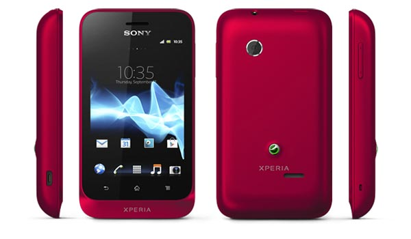 Sony Xperia tipo и tipo dual: смартфоны на платформе Android 4.0.