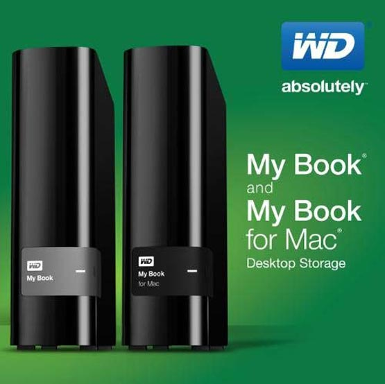 My Book и My Book for Mac - новинки от Western Digital