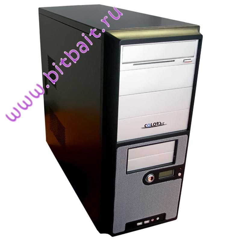 Бит и Байт Корпус ATX ColorSit L8032/C43/350U-SCH 350W P4 Fan 12cm USB Audio Neon TW-9.