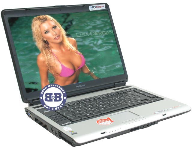Ноутбук Toshiba Satellite A100-003 T7400 / 2048Mb / 160Gb / DVD±RW / GeForce 7600 256Mb / Wi-Fi / BT / 15,4 дюйма / WVistaHP Картинка № 1