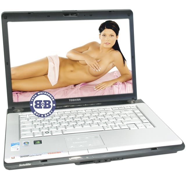 Ноутбук Toshiba Satellite A200-19L T7200 / 2048Mb / 250Gb / DVD±RW / GeForce 7300 256Mb / Wi-Fi / BT / 15,4 дюйма / WVistaHP Картинка № 1