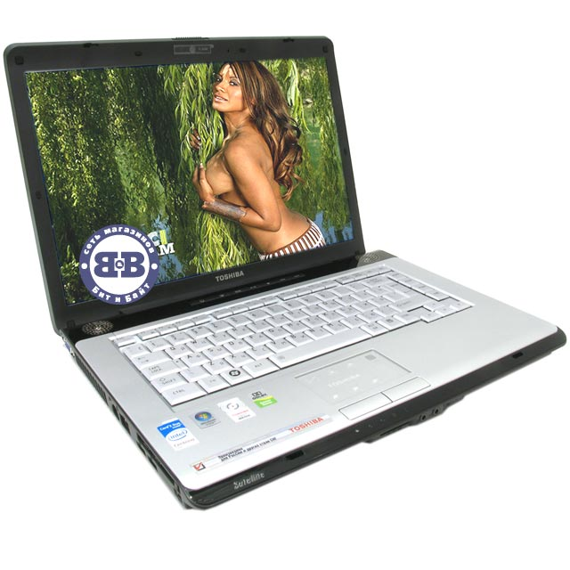Ноутбук Toshiba Satellite A200-1N1 T5550 / 1024Mb / 160Gb / DVD±RW / intel X3100 358Mb / Wi-Fi / BT / 15,4 дюйма / WVistaHP Картинка № 1