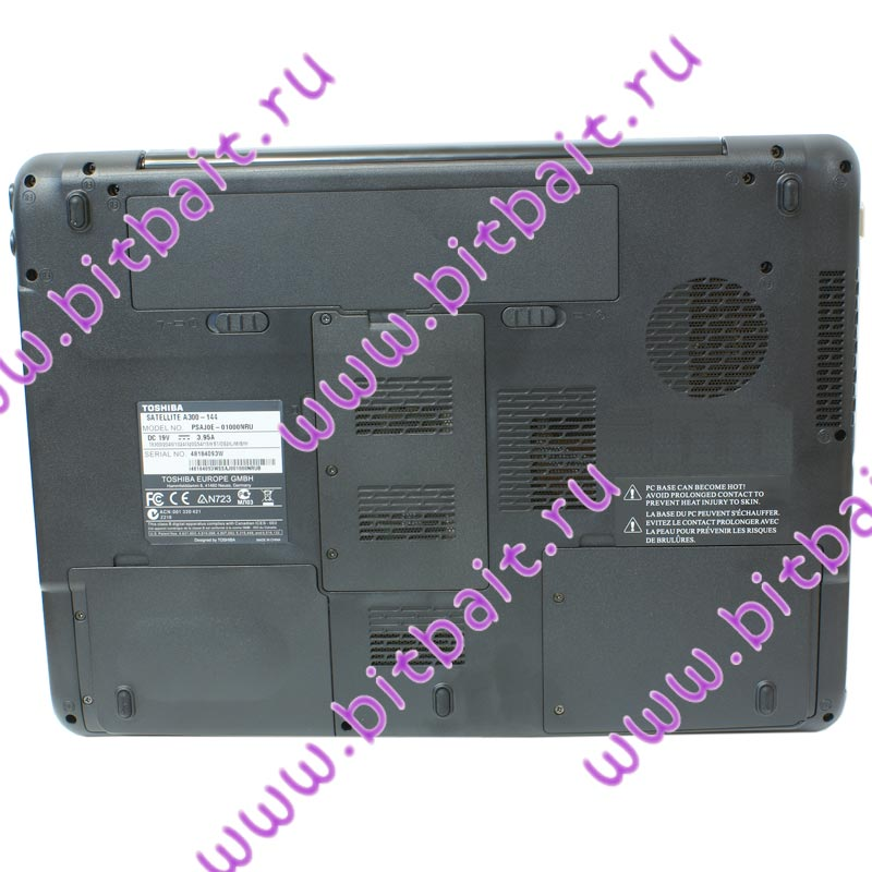 Ноутбук Toshiba Satellite A300-144-3 T2370 / 1024Mb / 200Gb / DVD±RW / intel X3100 358Mb / Wi-Fi / BT / 15,4 дюйма / WVistaHB Картинка № 7