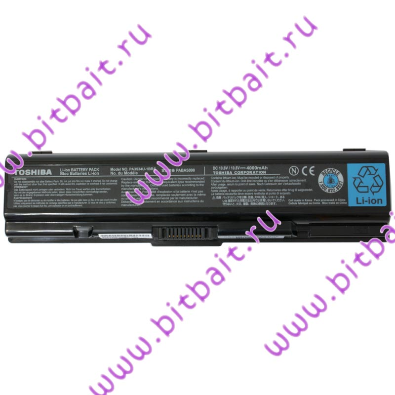 Ноутбук Toshiba Satellite L300-1C6 T5800 / 3072Мб / 160Гб / DVD±RW / GMA4500MHD до 1340Mб / Wi-Fi / Cam / 15,4 дюймов / WVistaHP Картинка № 10