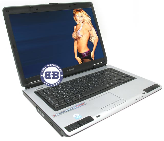 Ноутбук Toshiba Satellite L40-14B CM-530 / 512Mb / 120Gb / DVD±RW / intel X3100 358Mb / Wi-Fi / 15,4 дюйма / noOS Картинка № 1