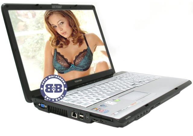 Ноутбук Toshiba Satellite P200D-11L Turion 64 X2 TL-60 / 2048Mb / 200Gb / DVD±RW / ATI HD2600 256Mb / Wi-Fi / BT / 17 дюймов / WVistaHP Картинка № 1