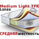 Матрас пружинный Lonax Medium Light TFK 1200х1900 мм.