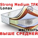 Матрас жёсткость выше средней Lonax Strong Medium TFK 2000х2000 мм.