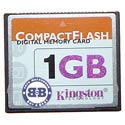 Compact Flash Card 1024Mb Kingston RTL