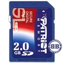 Secure Digital Card 2048Mb Patriot 40x (SD) Memory Card