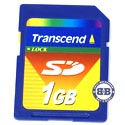 SD 1Gb Transcend TS1GSDC SD Memory Card